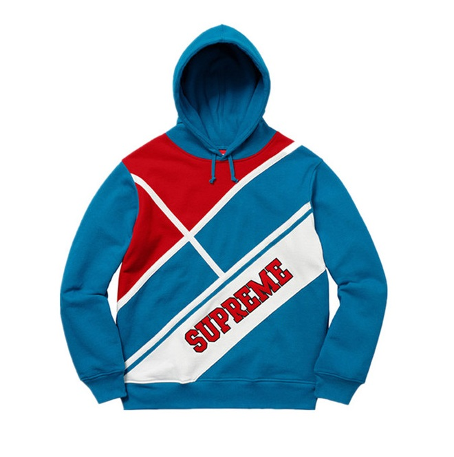 Diagonal Hooded