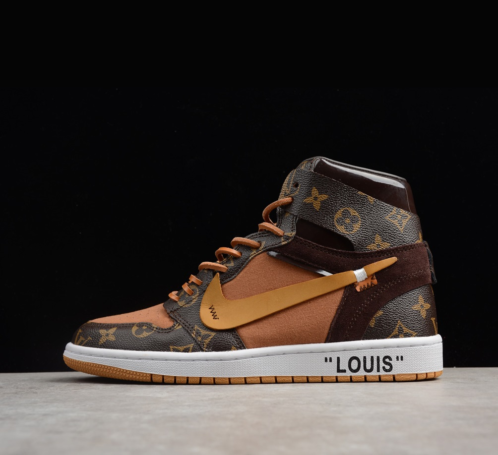 Air Jordan 1 x Off-White x Louis Vuitton