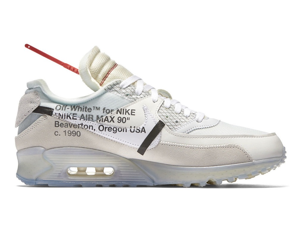 Off-White x Nike Air Max 90 Ice